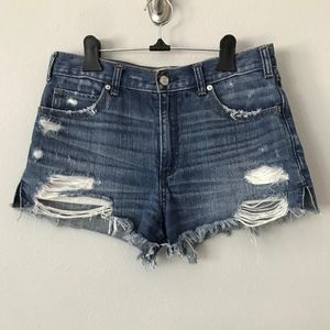 Abercrombie & Fitch High Rise Shorts in Sz 27W/4